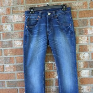 Levi 504 Men's Jeans Medium Wash 28x34